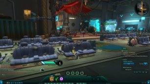 Wildstar Sitting on furniture