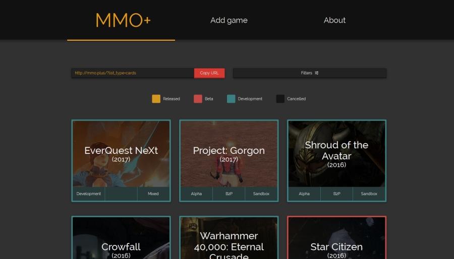 MMO+ website