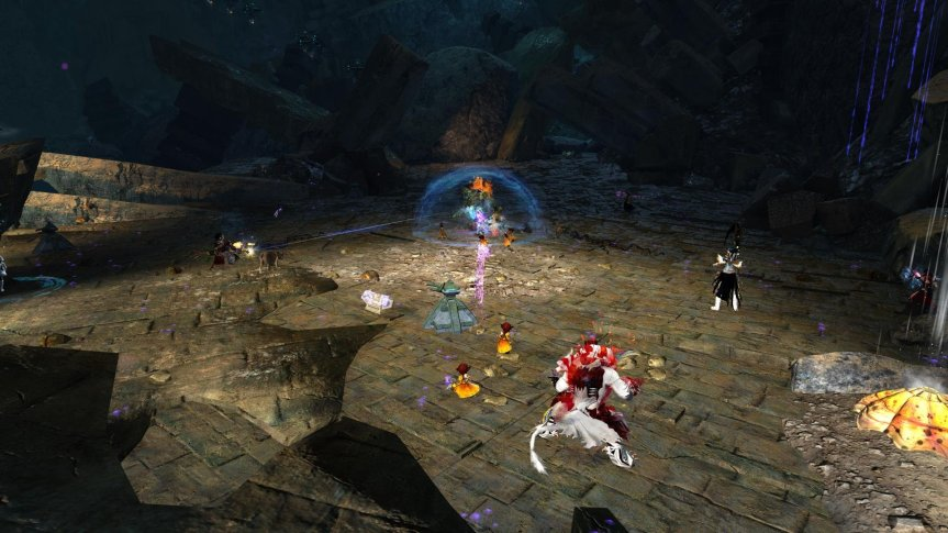 GW2 Rata Novus Fighting