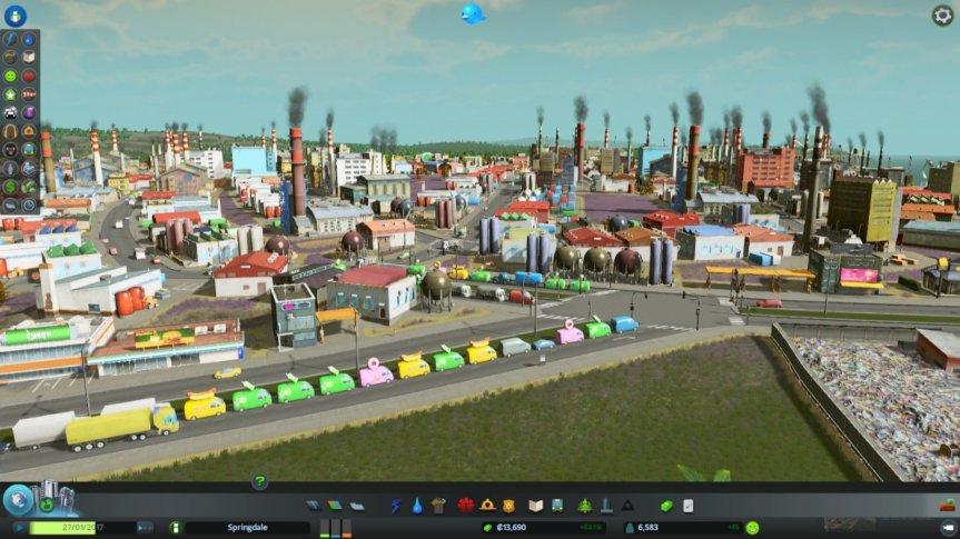 Cities Skylines Traffic