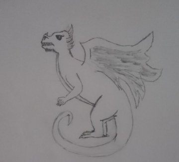 Unfinished dragon