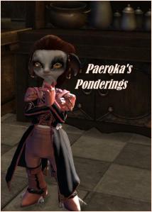 Paeroka's Ponderings featured image for column
