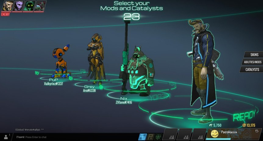 Atlas Reactor Match found screen