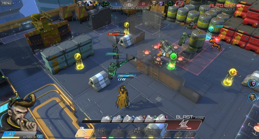 Atlas Reactor PvP with Lockwood