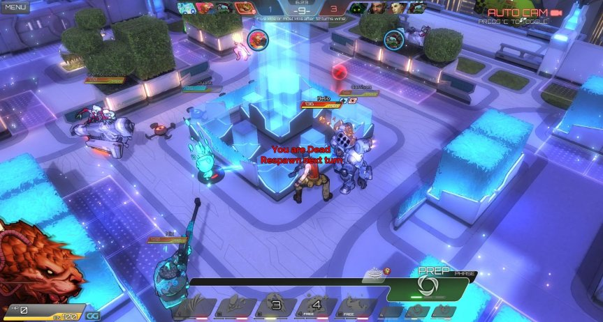 Atlas Reactor Solo game with Rask