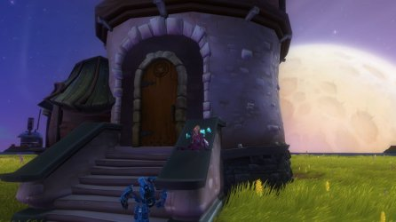 Wildstar Cozy Exile House Front