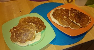 End result apple pancakes