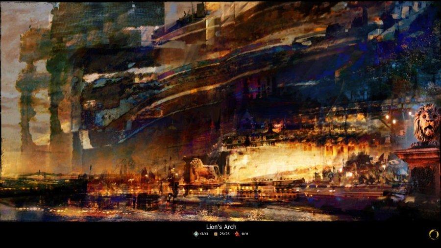 GW2 Lion's Arch Loading Screen