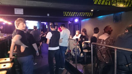 The Meltdown bar with us Foostivilians