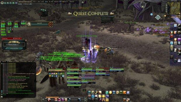Rift Paeroka warrior hits level 65