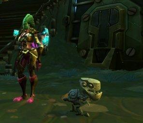Wildstar Gnix companion pet