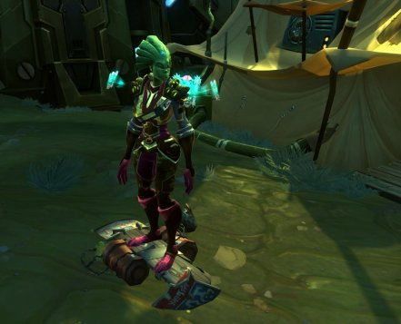 Wildstar Junkyard Dog Hoverboard mount