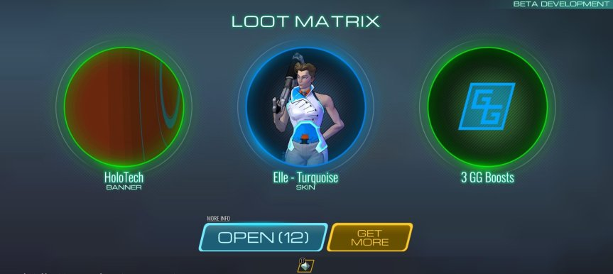 Atlas Reactor_Loot Matrix