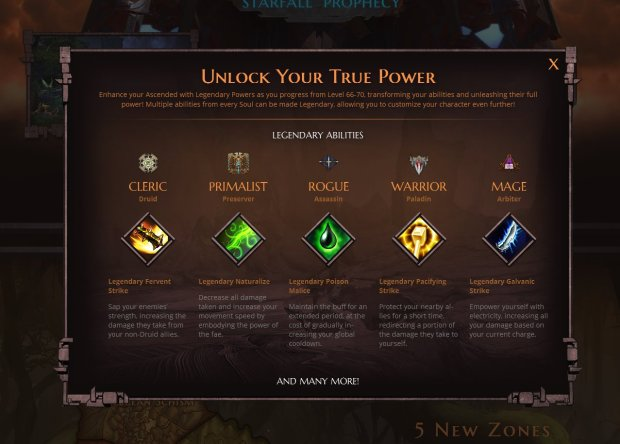Rift_Starfall Prophecy Legendary Abilities