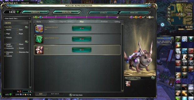 Rift_Starfall Prophecy Token rewards