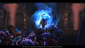 WoW Cut Scene Warlords of Draenor