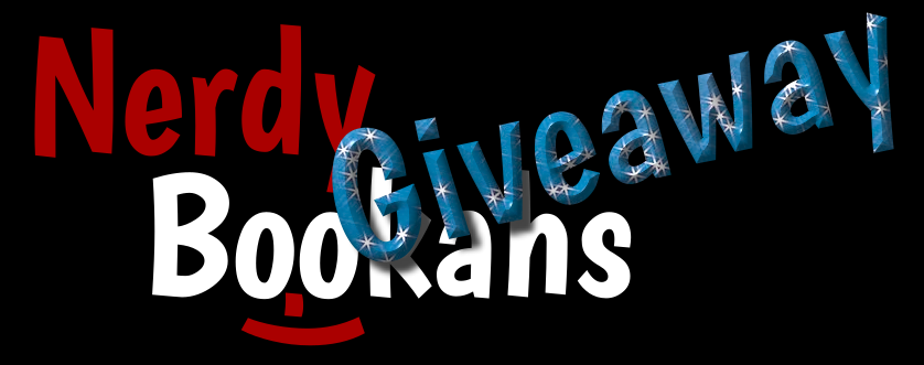 Nerdy Bookahs Logo for Giveaways