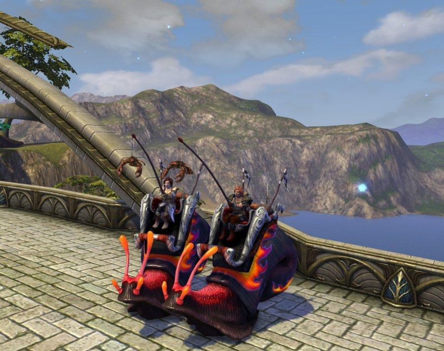 Rift 5th anniversary snail mount