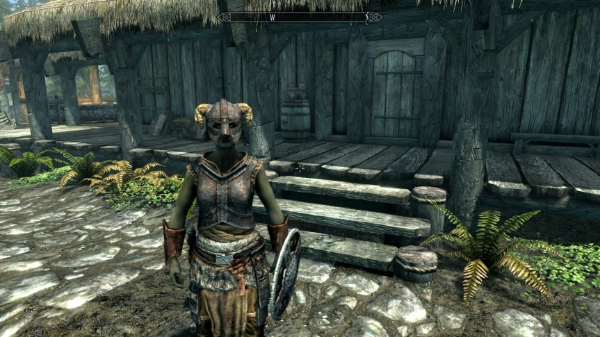 skyrim female orc character