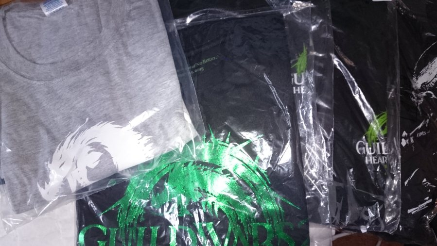 Wintersday Giveaway 2016 Guild Wars 2 t-shirts