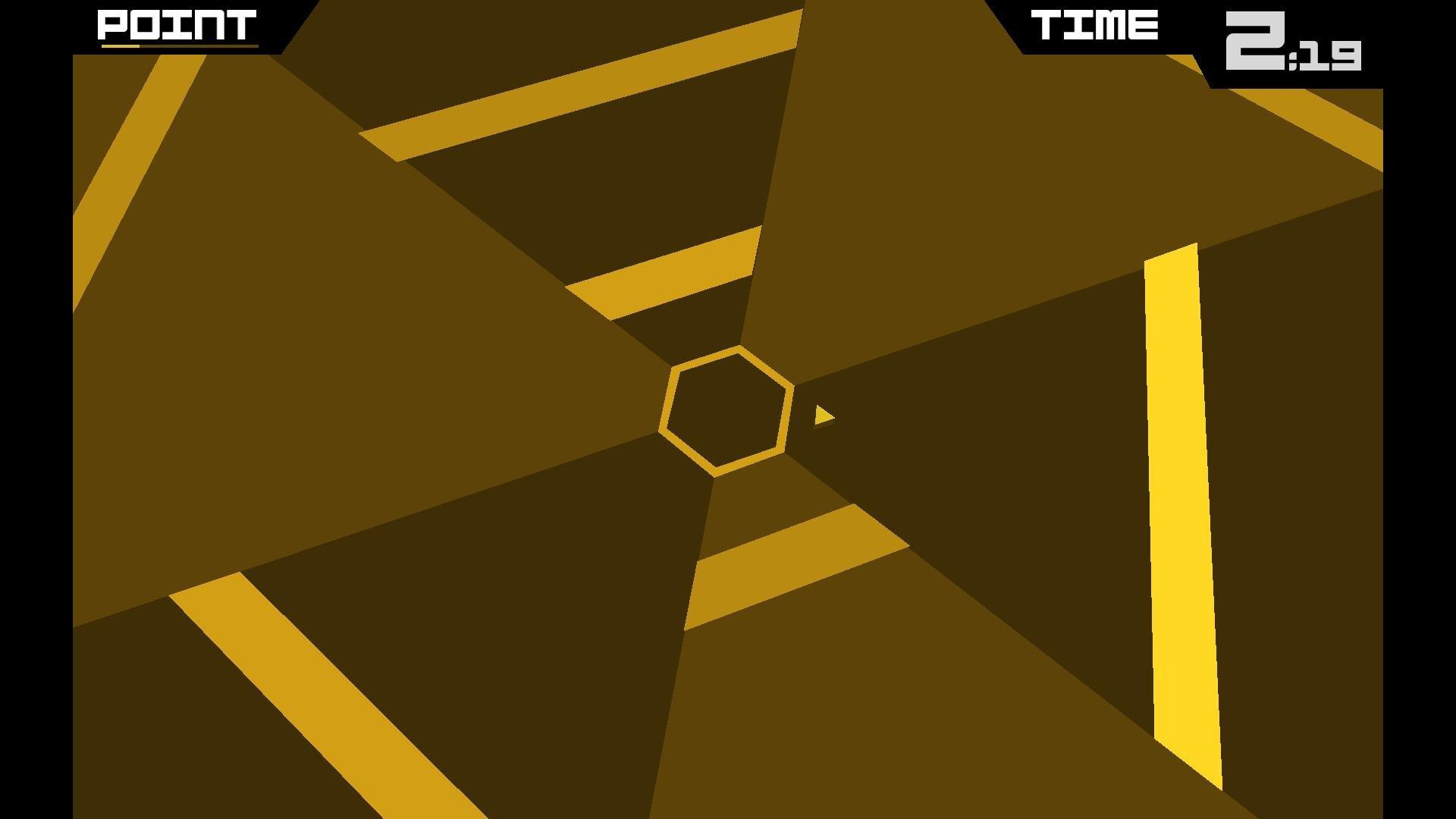 super hexagon 2 seconds in
