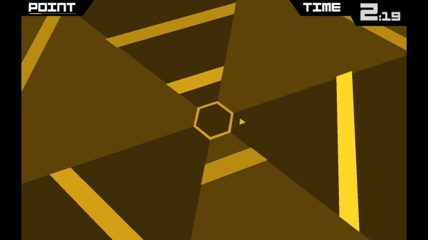 super hexagon 2 seconds in