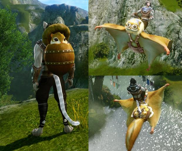 Trion_ArcheAge_Squirrel Glider mount