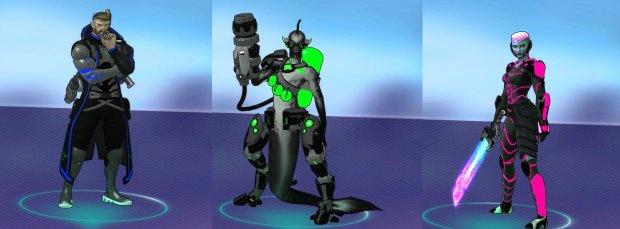Atlas Reactor Razer Chroma Skins