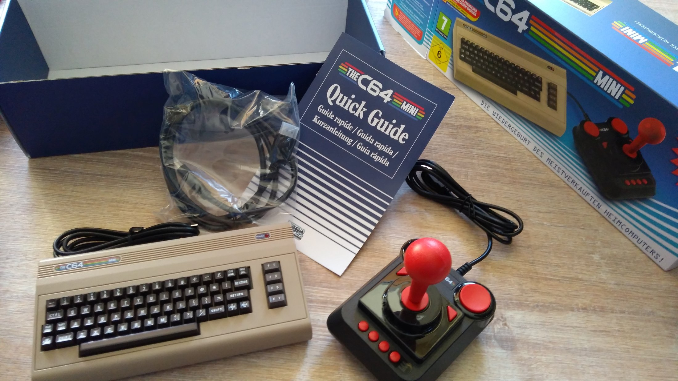 First Impressions: C64 Mini – Nerdy Bookahs