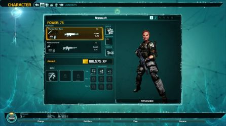 Defiance 2050 Character View