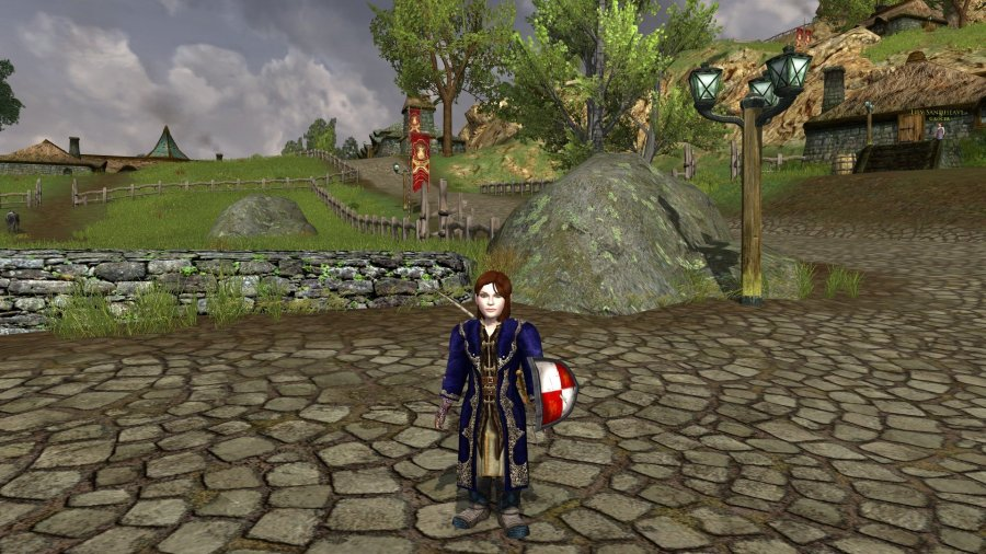 Lotro Guardian in Bree