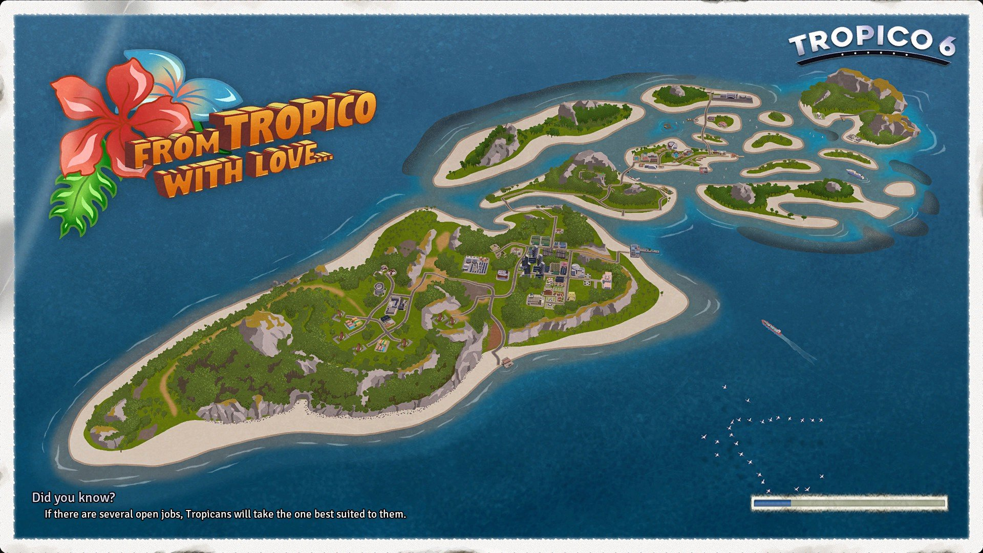 Tropico 6 Loading Screen