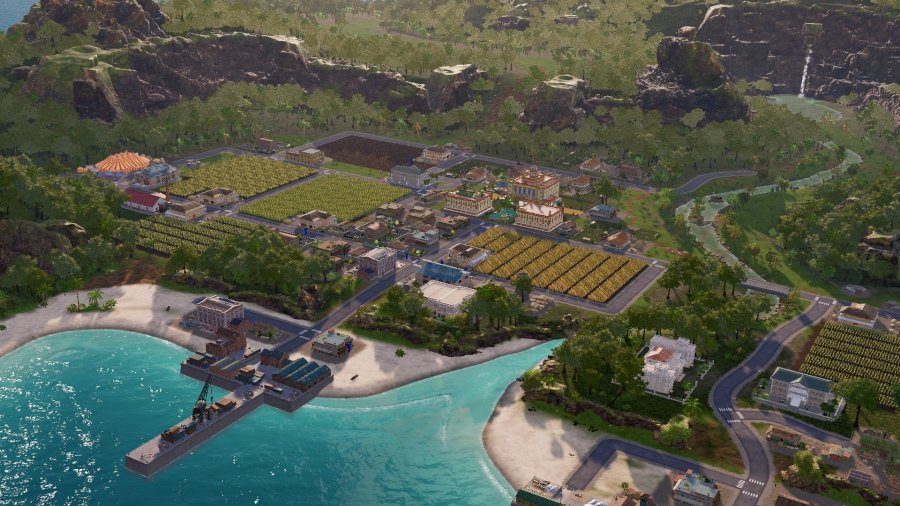 Tropico 6 First map