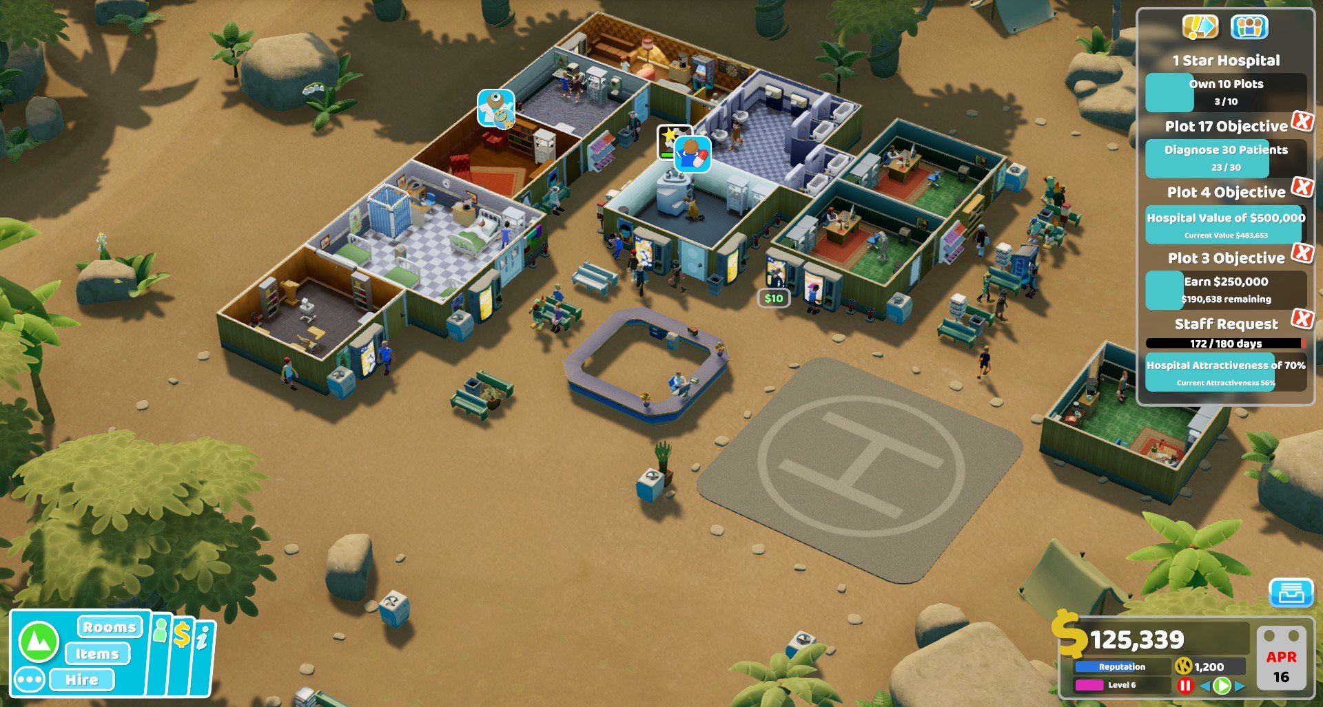 Two Point Hospital Pebberley
