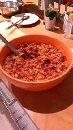 Couscous chili