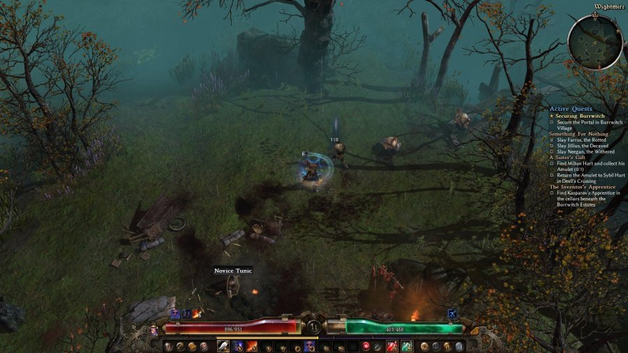 Grim Dawn_Dervish combat