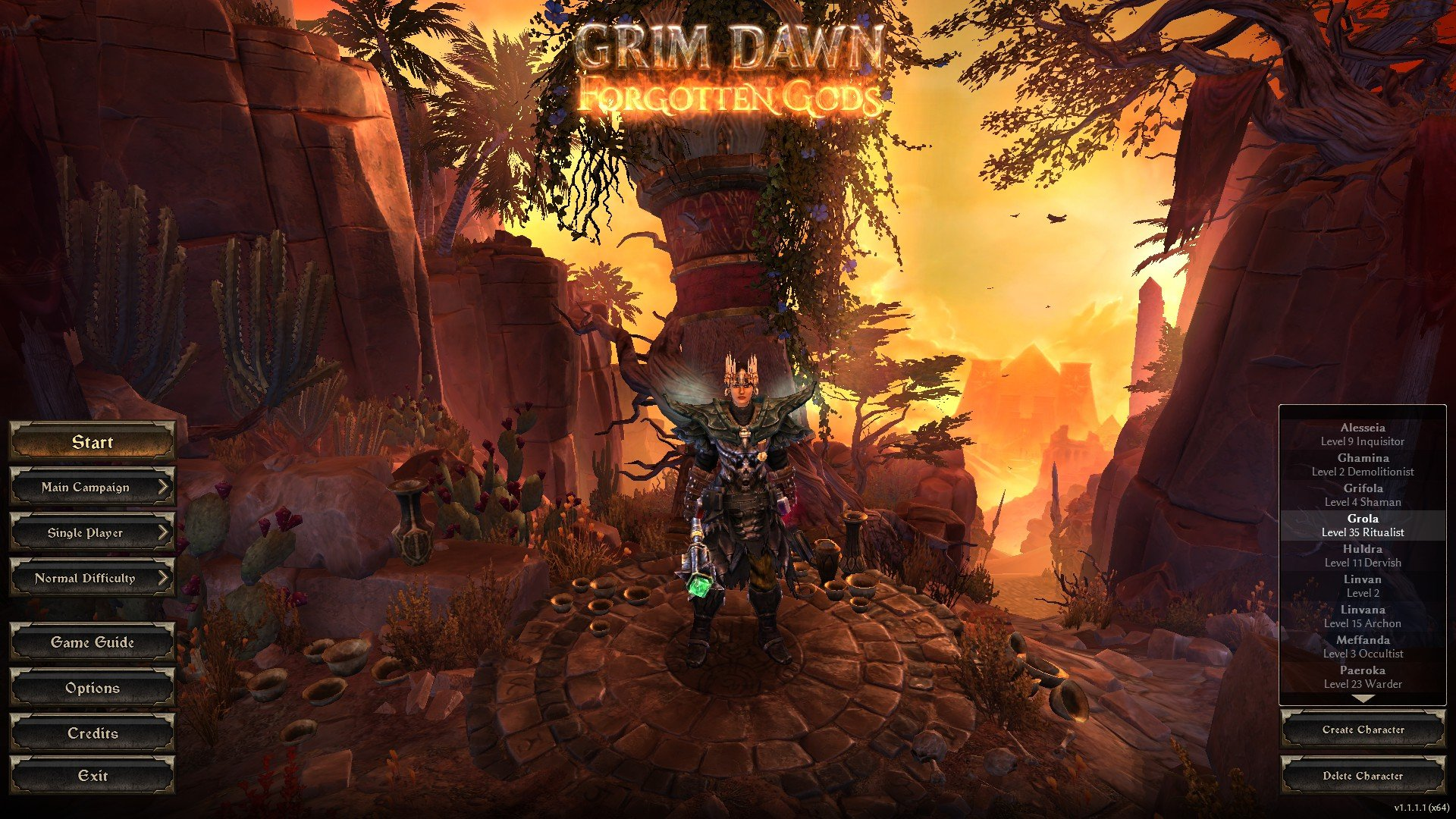 Too many choices in Grim Dawn – Nerdy Bookahs