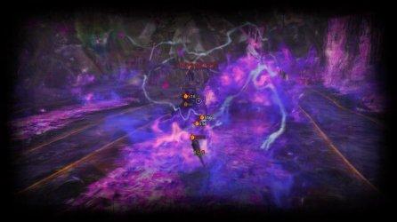 Guild Wars 2: Showing a combat scene