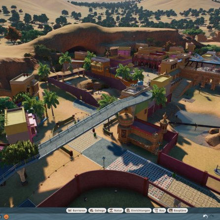 Planet Zoo_water pump in the air